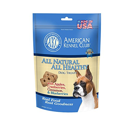 American Kennel Club All Natural All Healthy Dog Treat in Apple Cranberries, Cinnamon and Blueberries