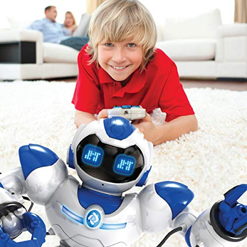 Kids Tech VA90022 Interactive Robot with Remote Control, Robot Can Sing, Dance, and Shoot A Ball Toy, Grab and Deliver Objects, Test Accuracy, Interactive Robot, Slow Walks, White by Kids Tech (Image #3)