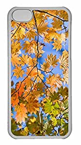 iPhone 5C Case, Personalized Custom Tree Twigs for iPhone 5C PC Clear Case by runtopwell