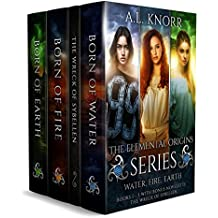 The Elemental Origins Series Box Set: Water, Fire, Earth. Books 1-3.
