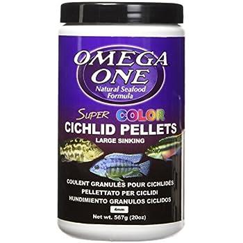 Amazon Com Aqueon Cichlid Food Jumbo Pellets 5 Ounce