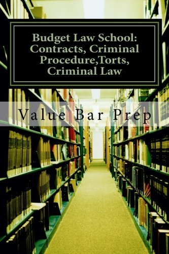 Budget Law School: Contracts, Criminal Procedure,Torts, Criminal Law: A Contracts essay is either on the Sale of Goods or provision of a service. The ... exciting to write, easy to pass. Here's how.
