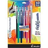 PILOT FriXion ColorSticks Erasable Gel Ink Stick Pens, Fine Point, Assorted Color Inks, 10-Pack (32454): more info