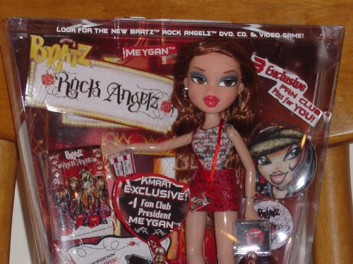 Amazon.com: Bratz Rock Angelz Exclusivo meygan muñeca: Toys ...