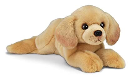 Amazon Com Bearington Tanner Yellow Labrador Retriever Plush