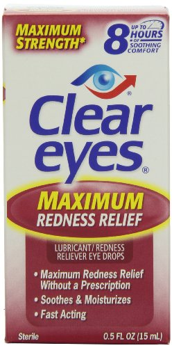 Yeux clairs Force maximale Redness Relief, 0,5 Fluid Ounce