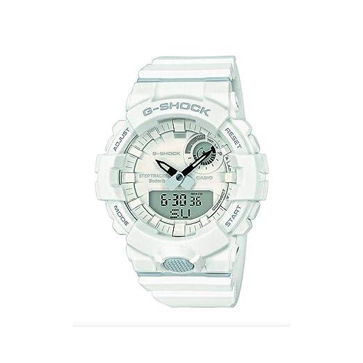 Casio Reloj Digital para Hombre de Cuarzo con Correa en Resina GBA-800-7AER: Amazon.es: Relojes