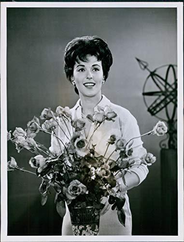 Vintage Photos 1961 Bess Myerson Ive Got A Secret Tournament Roses Parade Celebrity 7X9
