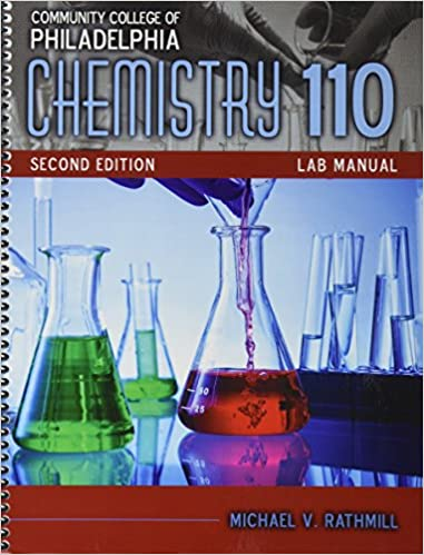 Amazon community college of philadelphia chemistry 110 lab community college of philadelphia chemistry 110 lab manual 2nd edition fandeluxe Images