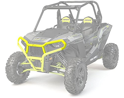 POLARIS RZR XP 1000 900 EXTREME FRONT BUMPER ATTACHMENT LIME