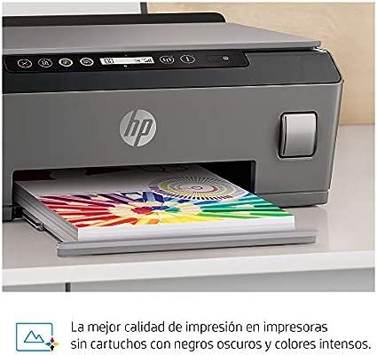 HP Smart Tank Plus 555 - Impresora multifunción (imprime, copia y escanea desde el móvil), conectividad Wi-Fi, incluye hasta 3 años de tinta, negro