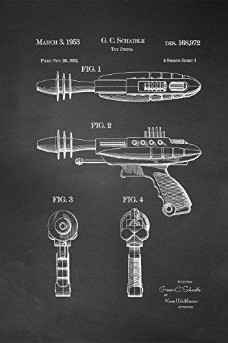 JP London SPMURJSCLT09 Future Star Phaser Ray Gun Alien T...