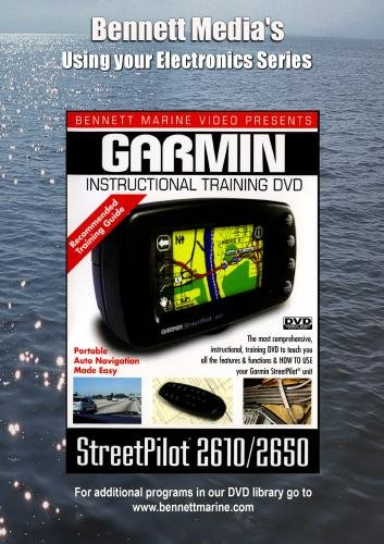 GARMIN StreetPilot 2610/2650 GPS INSTRUCTIONAL DVD (Gps Instructional Dvds)