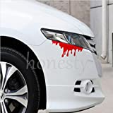 UNAKIM--Blood Flowing Vinyl Funny Car Decal Window Truck Auto Bumper Laptop Wall Sticker