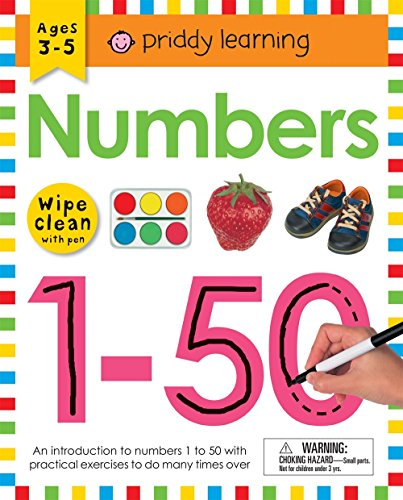 Wipe Clean Workbook: Numbers 1-50 (Wipe Clean Learning Books)