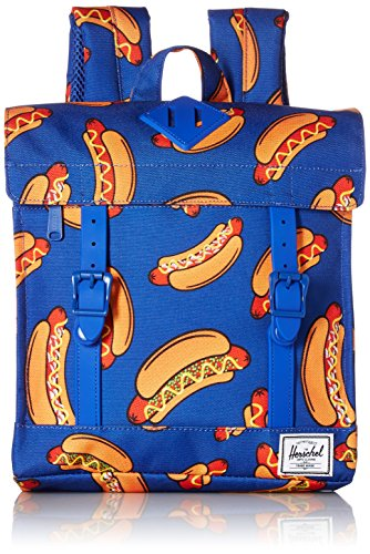 Herschel Supply Co. Survey Kids Backpack, Surf the Web Hot Dogs/Surf the Web Rubber