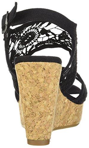 Kile Kvinners Krazy Fergalicious Sandal Sort qYpxwS