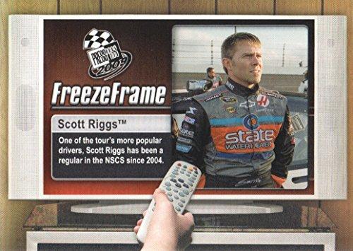 2009 Press Pass NASCAR Racing Freeze Frame #FF28 Scott Riggs (Riggs Scott Nascar)