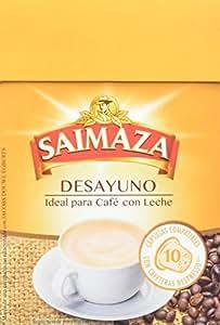 Saimaza Café Espresso Desayuno. 80 Cápsulas de aluminio