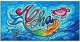 Hawaii Aloha Beach Towel Island Impressions Mermaid 30'' x 60''