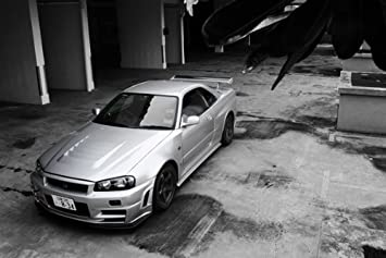 Amazon Com Nissan Skyline Z Tune Gtr Gt R Left Front Black