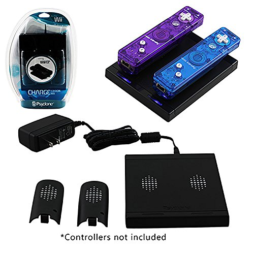 Nintendo Wii Induction Two Station Charger with Two Batteries (Induction Wii Charger compare prices)