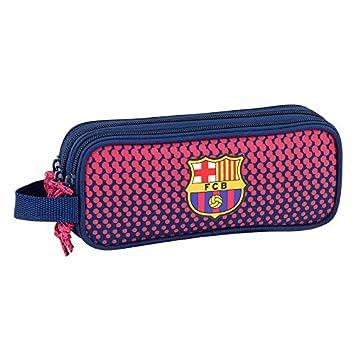 FC Barcelona - Estuche escolar estudiantes Triple Deluxe ...