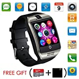 Bluetooth Smart Watch With Camera ,Unlocked Bluetooth Watch Cell Phone with Sim Card Slot,Smart Wrist Watch,Waterproof Smartwatch Phone for Android Samsung IOS Iphone 7 Plus 6S Men Women Kids Boys