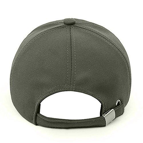 Lamdgbway Gorra del de Solar Verde Sombrero Respirable Papá Proteccion Beisbol Hombres de ejército rr1wq