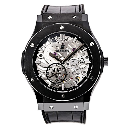 Hublot Classic Fusion mechanical-hand-wind mens Watch 515.CM.0140.LR (Certified Pre-owned)