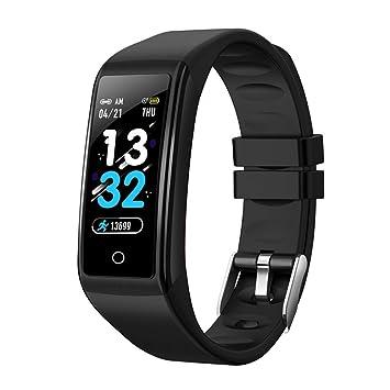 ZLOPV Pulsera Reloj Inteligente H3 Pulsera de Fitness ...