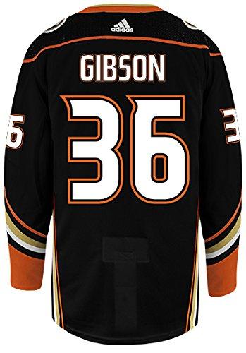 1f6be61b21c Amazon.com : John Gibson Anaheim Ducks Adidas Authentic Home NHL Hockey  Jersey : Clothing