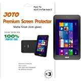JOTO - ASUS VivoTab Note 8 Tablet (Windows 8.1) Screen Protector Film Anti Glare, Anti Fingerprint (Matte Finish) with Lifetime Replacement Warranty (M80TA) (3 Pack)