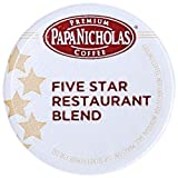 PapaNicholas Coffee Single Serve Coffee Cups Fits Keurig K Cup Brewers, 5-star Restaurant Blend, 12 Count