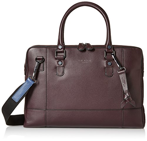 Ted Baker Men's Jager Leather Document Bag by Ted Baker