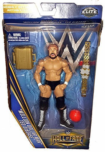 WWE Wrestling Elite Collection Hall of Fame Ted Million Dollar Man Dibiase 6 Action Figure by WWE