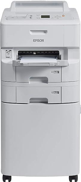 Epson WorkForce Pro WF-6090DTWC - Impresora de tinta (65000 páginas por mes, 4800 x 1200 DPI, ESC/P-R,PCL 5c,PCL 5e,PCL 6,PDF 1.7,PostScript 3, Negro, Cian, Magenta, Amarillo, Bandeja de papel, 34 ppm): Epson: