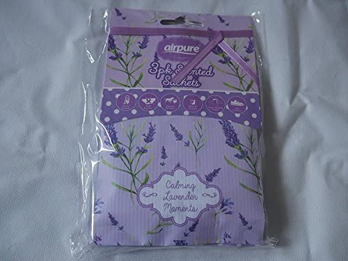 Airpure - Pack de 3 bolsas aromáticas para mascotas, aceite, repelente de polillas, ambientadores para armario: Amazon.es: Hogar
