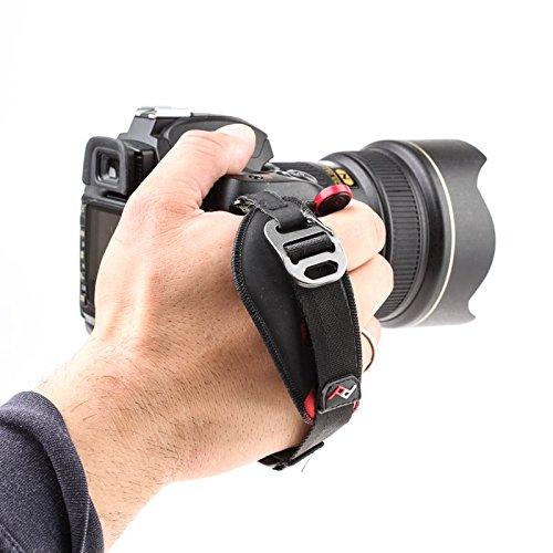 Peak Design Clutch Handschlaufe für DSLRs und spiegellose Systemkameras (verbesserte Version mit stabilerem Steckverschluss)