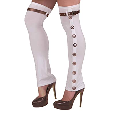Bristol Novelty BA781 Steampunk Buckle Spats, Mens, One Size: Toys & Games