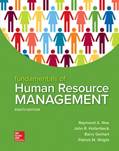 Loose Leaf for Fundamentals of Human Resource Management for sale  Delivered anywhere in USA