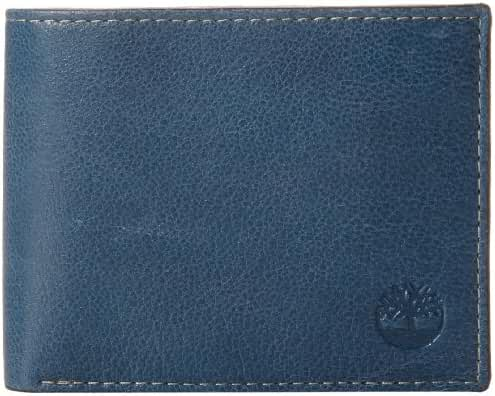 Timberland Men's Fine Break Wallet with Removable Passcase