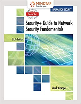 MindTap Information Security, 1 term (6 months) Printed Access Card for Ciampa's CompTIA Security+ Guide to Network Security Fundamentals (MindTap Course List)