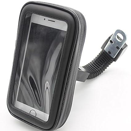 Wiiguda@Wasserdicht Motorrad Handyhalterung, Universal 360 Grad verstellbare motorrad handy tasche fü r iPhone 6plus/Hirse 3/Samsung Note2/Huawei 3C und andere unter 5.5 Zoll Handys.L B-motor phone case(L)