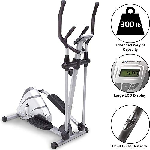EXERPEUTIC 1000XL Heavy Duty Magnetic Elliptical (Exerpeutic Air Elliptical)
