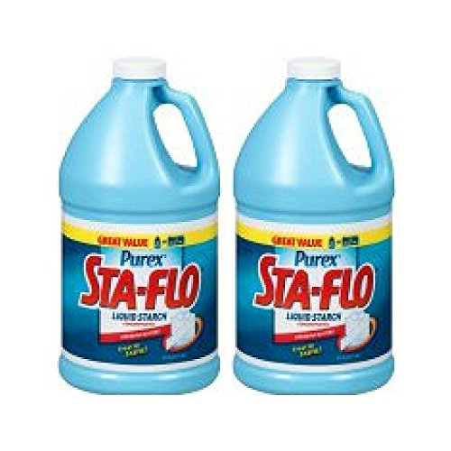 Sta-Flo Concentrated Liquid Starch, 1/2 Gallon - Pack of 2