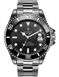 T801 Men Automatic Mechanical Watch Fashion Waterproof Luminous Watch