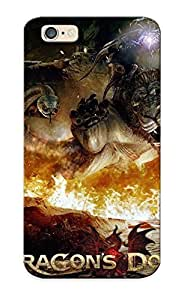 Crazinesswith Anti-scratch And Shatterproof Dragon Dogma Dark Arisen Phone Case For Iphone 6/ High Quality Tpu Case