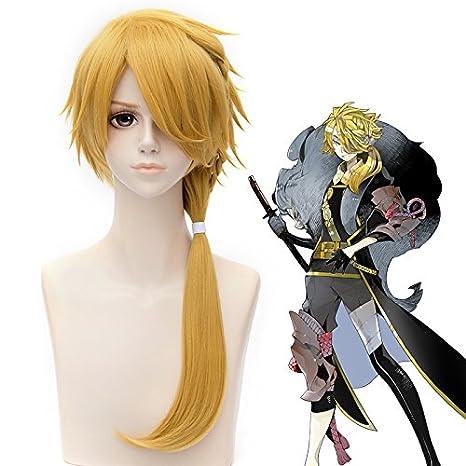 Eday 23.6 Largo Stright pelo rubio cosplay peluca el rey León ...