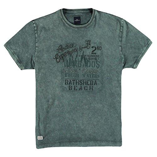 engbers Herren Rundhals T-Shirt, 25138, Grün